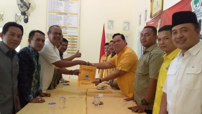 Ketua Demokrat Lamtim Bayar Mahar Rp15 Juta ke Golkar