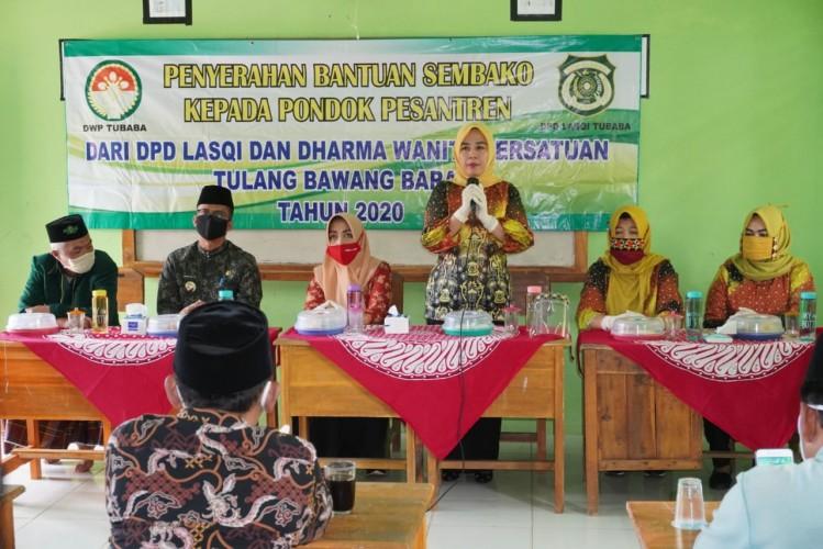 Ketua DPD Lasqi Tubaba Dorong Ponpes Makin Maju