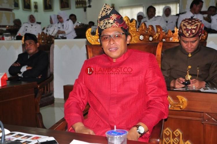 Ketua DPRD Bandar Lampung Terima Penghargaan Penggerak Olahraga Lampung