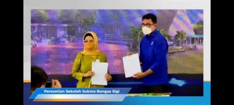 Ketua DPRD Sulteng Wakafkan Tanah 4 Hektare Bangun Sekolah Sukma Bangsa
