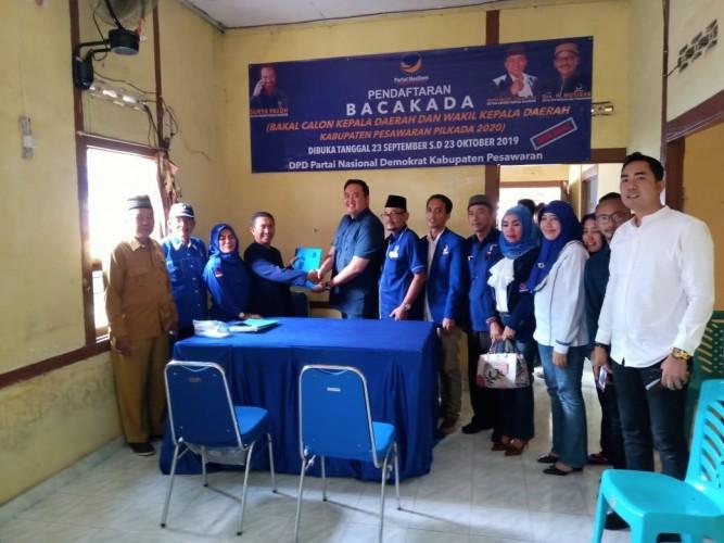 Ketua Fraksi NasDem DPRD Bandar Lampung Daftar Wabup Pesawaran