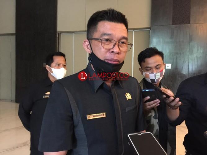 Ketua Komisi V DPRD Lampung Sebut Razia Masker Tak Efektif Cegah Covid-19