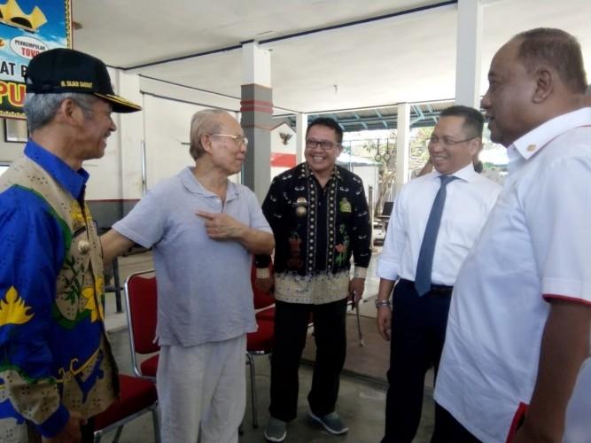 Ketua KONI Pusat Kunjungi Padepokan Gajah Lampung