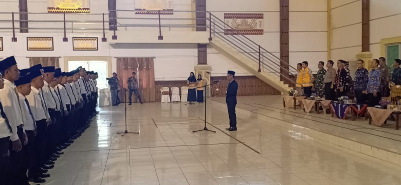 Ketua KPU Lamtim Lantik 120 Anggota PPK