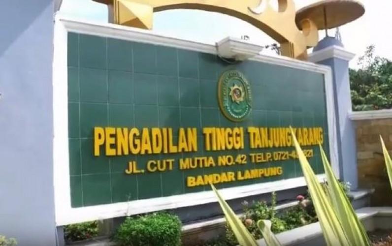 Ketua Pengadilan Tinggi dan Negeri Tanjungkarang Diganti