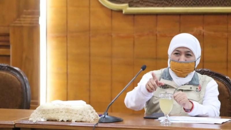 Khofifah Beberkan Alasan Tracing di Jatim Lemah