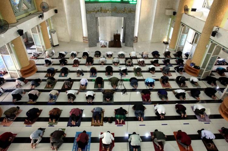 Khotbah di Wilayah yang Diperbolehkan Salat Id di Lapangan Dibatasi 20 Menit