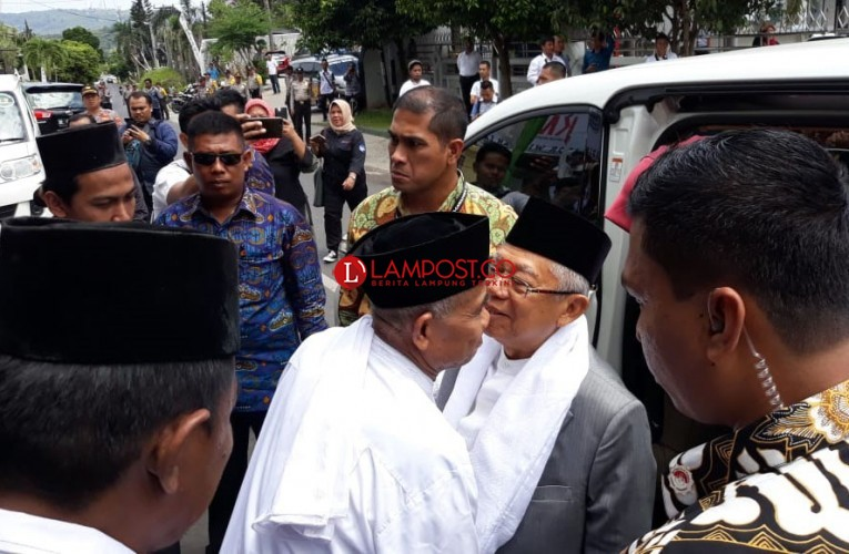 Kiai Ma'ruf Rangkul Tokoh Lintas Agama di Lampung