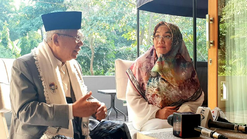 Kiai Ma'ruf: Tiga Kartu Baru untuk Penguatan Menuju Indonesia Maju