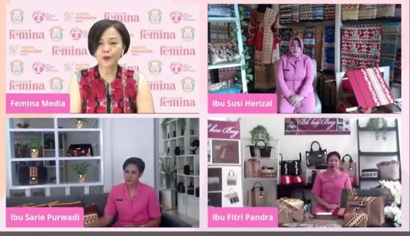 Kiat Sukses Wirausaha Binaan Bhayangkari Polda Lampung di Tengah Pandemi