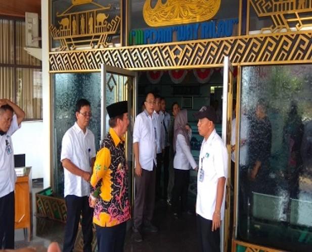 Kinerja PDAM Way Rilau Bikin Wali Kota Geram