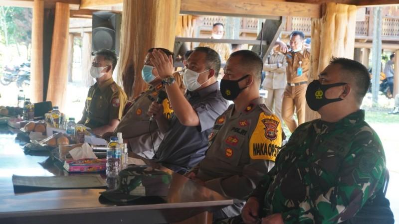 Kinerja Penanganan Covid-19 Seluruh Kepalo Tiyuh di Tubaba Dievaluasi