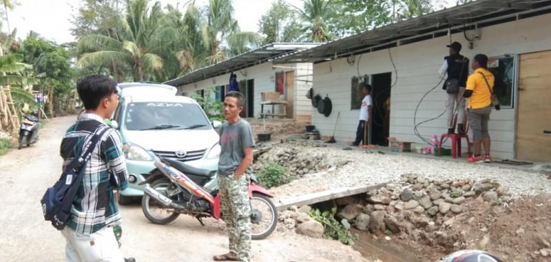 Kini Huntara Korban Tsunami Lamsel Terang