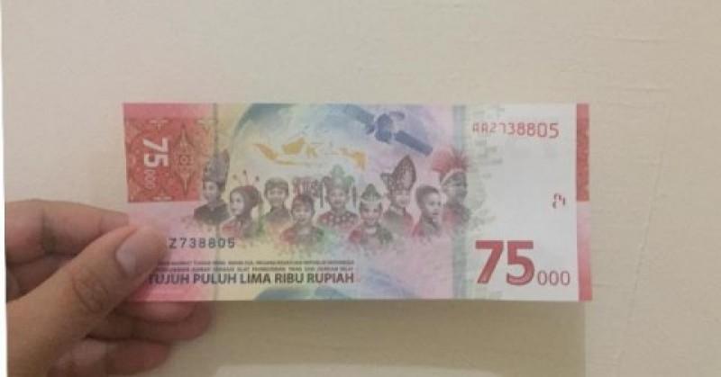 Kini Uang Pecahan Rp75 Ribu Bisa Ditukarkan di Semua Bank