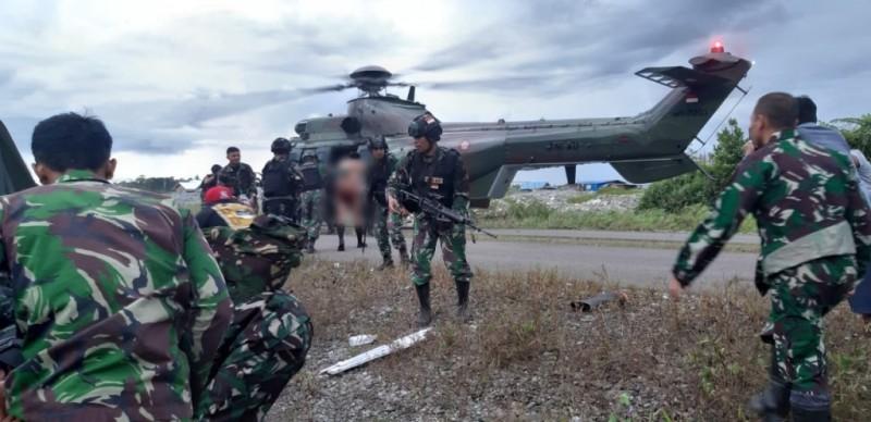 KKB Serang TNI Saat Mengamankan Distrik Kenyam