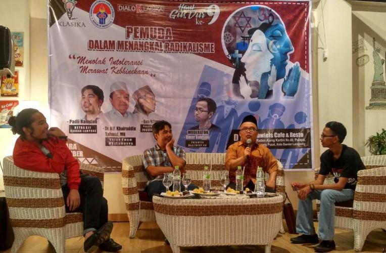 Klasika ajak Pemuda Lampung Menyongsong 2019 Bukan Hanya Soal Politik
