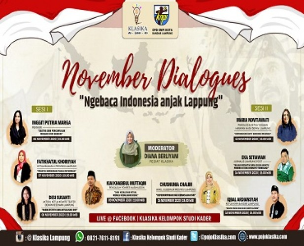 Klasika-KNPI Gelar November Dialogues dalam Rangka Hari Pahlawan
