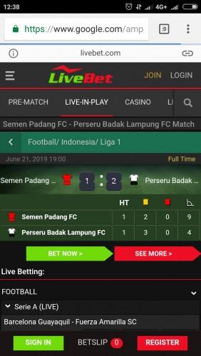 Klub Liga 3 Lampung Masuk Situs Judi Online, Satgas Mafia Bola Diminta Waspada