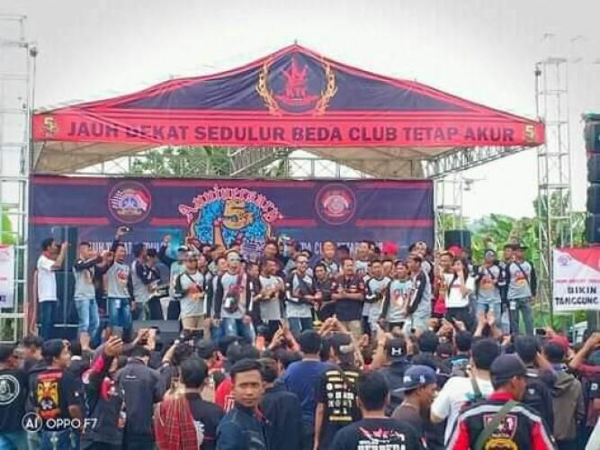 Klub Motor King Tanggamus Rayakan Anniversary Ke-5