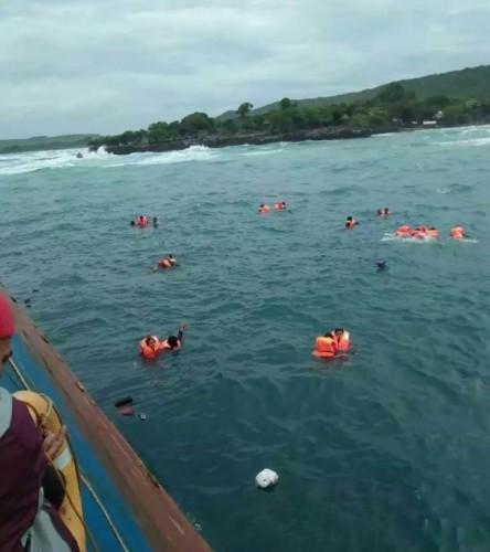 KM Lestari Maju Tenggelam di Perairan Kepulauan Selayar