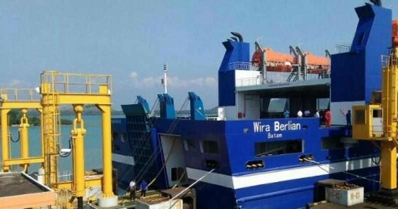 KMP Wira Berlian Kapal ke-73 yang Beroperasi Lintasan Bakauheni-Merak
