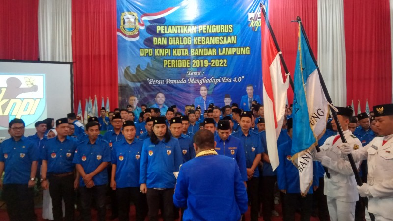 KNPI Bandar Lampung Siap Bangun Struktur Hingga Akar Rumput