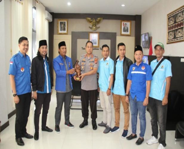 KNPI Bangun Sinergisitas dengan Polresta Bandar Lampung