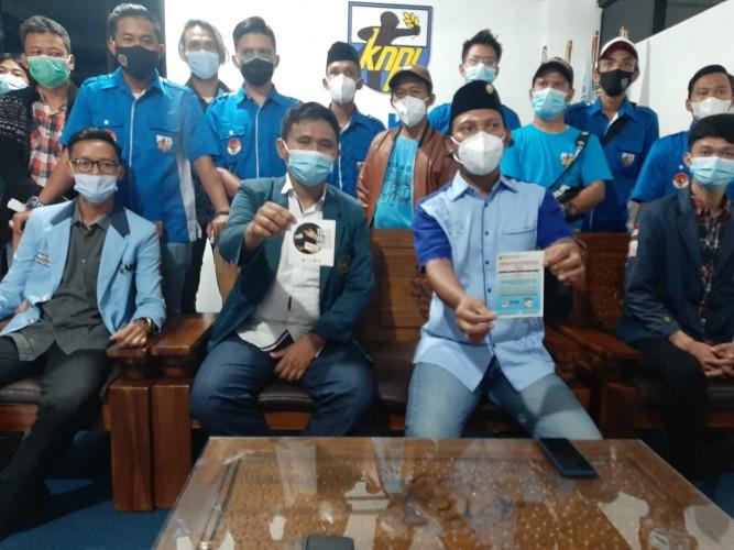 KNPI Bersama BEM Lakukan Patroli Tolak Politik Uang