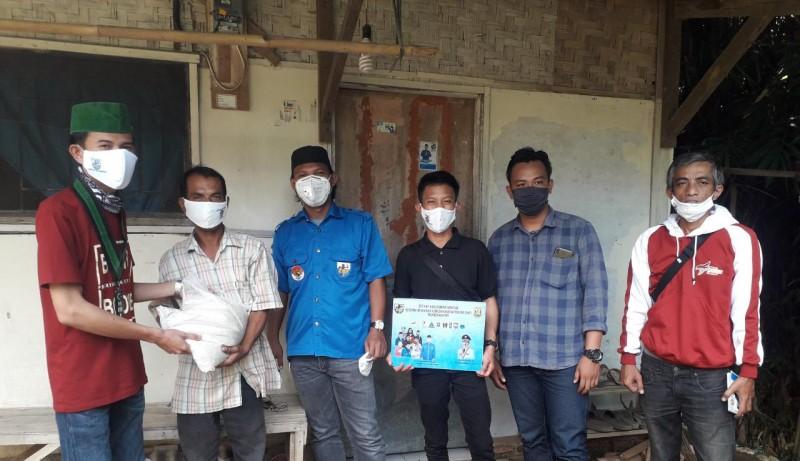 KNPI, HMI, GMNI Kompak Bantu Masyarakat Bandar Lampung