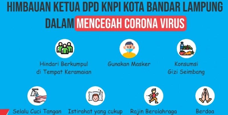 KNPI Imbau Warga Jaga Kondisi Tubuh Cegah Korona