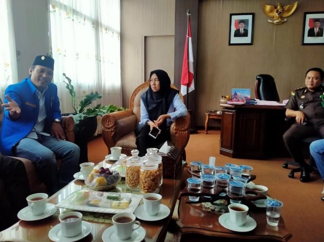 KNPI Jaga Silaturahmi dengan Kejari Bandar Lampung