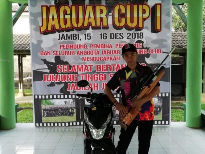 Kobel SC Lampung Kirim Satu Atlet Ikuti Kejuaraan Menembak di Jambi