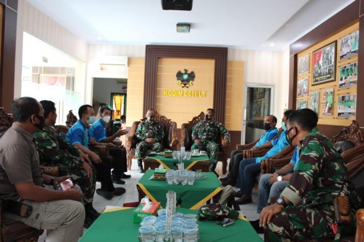 Kodim 0411 Lampung Tengah Ajak Jurnalis Bendung Paham Radikal