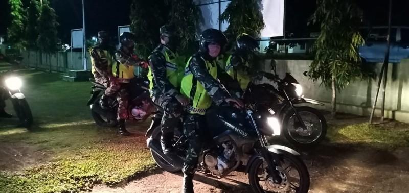 Kodim 0412 Lampung Utara Patroli Malam di Tubaba