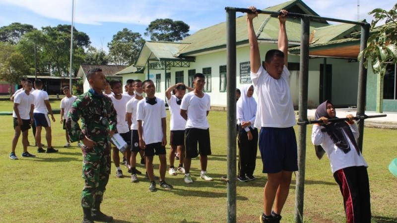 Kodim 0422 Latih Fisik Pemuda