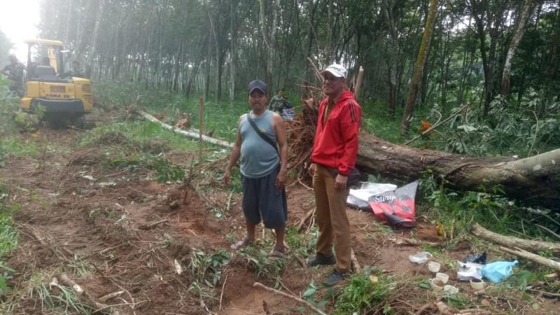 Jalan Penghubung Desa Bandar Kangunganraya—Tanjungiman Dibuka
