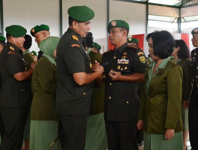 Kolonel Taufiq Hanafi Resmi Jabat Danrem 043/Gatam