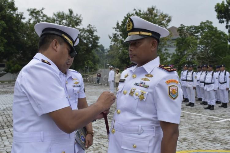 Komandan KAL Pohawang Lanal Lampung Resmi Dikukuhkan
