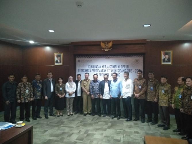 Komisi XI DPR RI KunjungKerja ke Provinsi Lampung