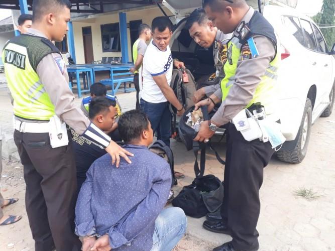 Komplotan Spesialis Pencuri Rumah Kosong Terjaring Razia Operasi Zebra