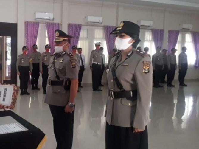 Kompol Heti Jabat Wakapolres Tanggamus