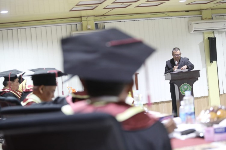 Kompol Rinaldi Doktor Ke-91 UIN Raden Intan Lampung