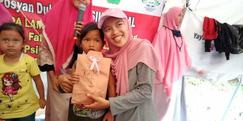 Komunitas Remaja Peduli Lampung Sebarkan `Virus` Literasi