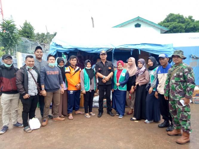 Komunitas Sadar Kesehatan Salurkan Bantuan