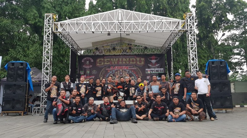 Komunitas Yamaha Bison Bekasi Rayakan Hari Jadi