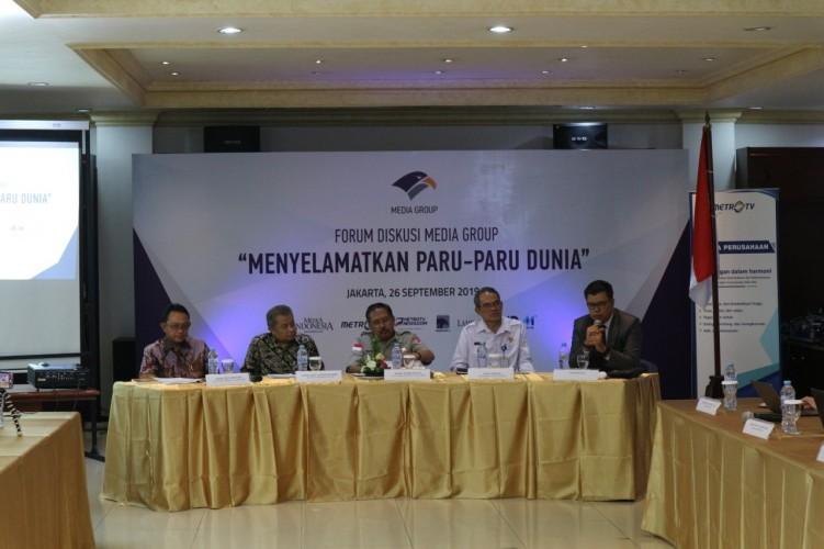 Kondisi Udara di Sumatera Lebih Baik Dibanding Kalimantan