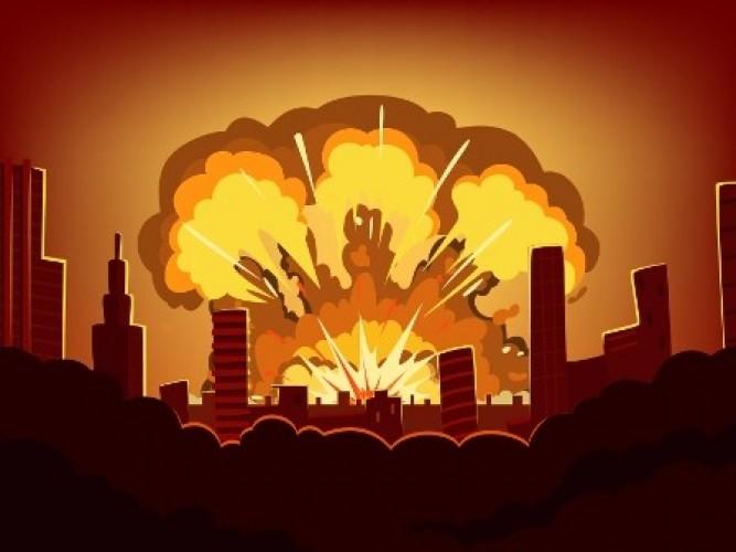 Kondisi Usai Ledakan di Mako Brimob Semarang