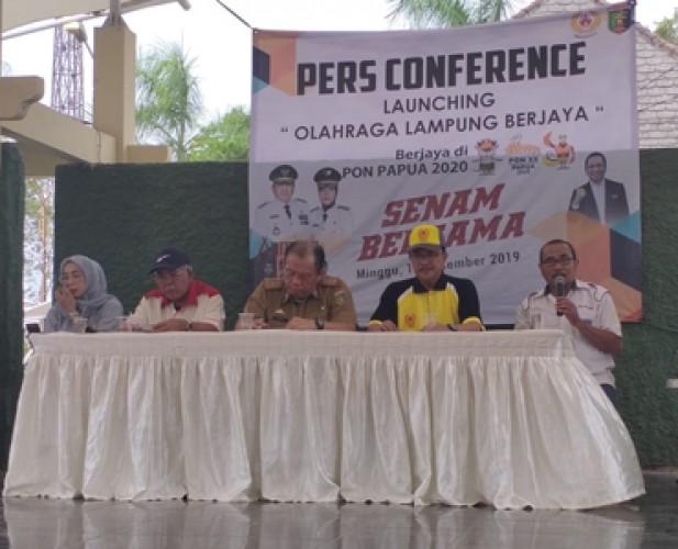 KONI Lampung Ajukan Rp75 Miliar Kejar Target 10 Besar PON