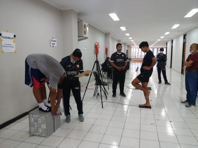 KONI Lampung Gelar Tes Fisik Atlet PON Papua