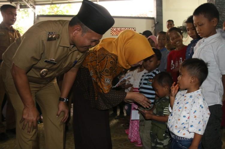 KONI Pringsewu bersama Yayasan Jantung Indonesia Gelar Halalbihalal